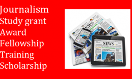 Fellowship, Award and Grant for Student and Journalists